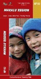 9789993347637: Makalu Region: 1:100,000 Trekking Map (The Great Himalaya Trail Map Series) (NP102)