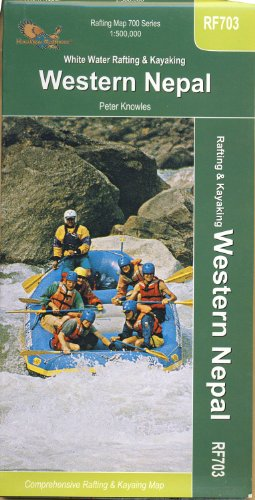 9789993347897: Rafting, Kayaking Western Nepal