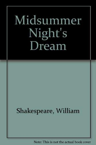9789993353560: Midsummer Night's Dream