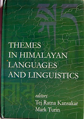 9789993354161: Themes in Himalayan Languages and Linguistics