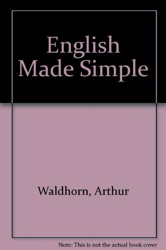 English Made Simple: Arthur Waldhorn