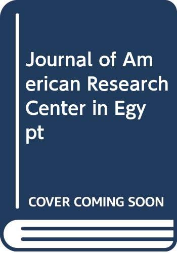 9789993754060: Journal of American Research Center in Egypt