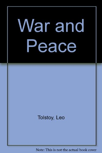 9789993895701: War and Peace