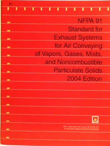 9789993960355: Nfpa 91 Standard for Exhaust Systems for Air Conveying of Materials