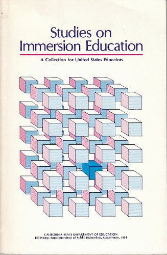 9789994055005: Studies on Immersion Education: A Collection for U.S. Educators