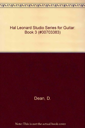 9789994059676: Hal Leonard Studio Series for Guitar: Book 3 (#00703383)