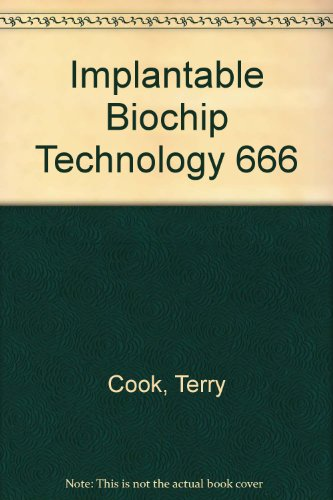 9789994255870: Implantable Biochip Technology 666