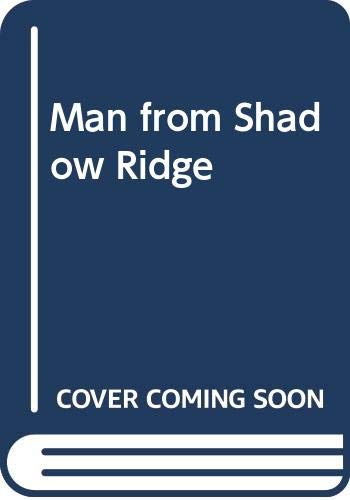 9789994271856: Man from Shadow Ridge