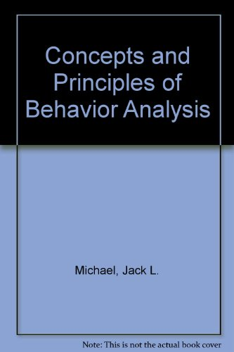 9789994359035: Concepts and Principles of Behavior Analysis