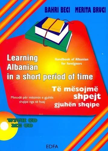 9789994364374: Learning Albanian in a Short Period of Time. Book + audio CD