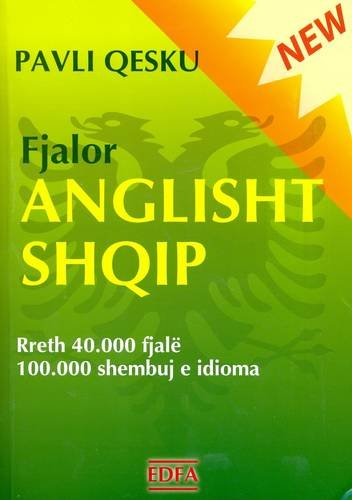English-Albanian Dictionary (Albanian and English Edition): Qesku, Pavli