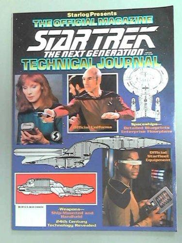 9789994368501: Star Trek: The Next Generation Technical Journal