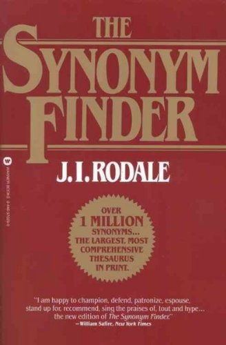 Synonym Finder: J. I. (Author)