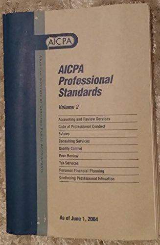 9789994470396: Aicpa Professional Standards: As of June 1, 2004 (Aicpa Professional Standards, 2004)