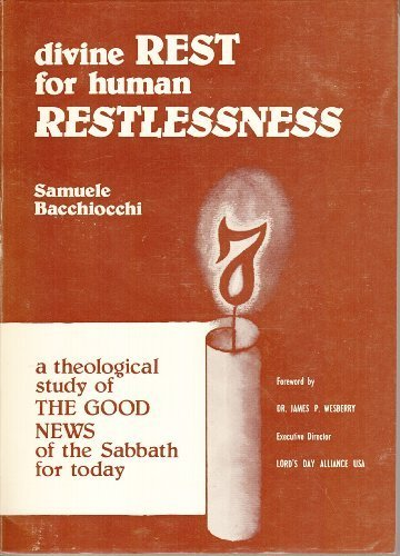 9789994610242: Divine Rest for Human Restlessness