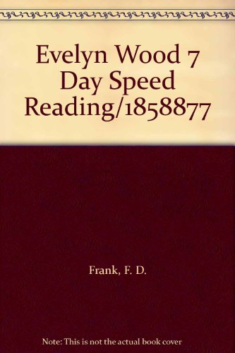 9789994698295: Evelyn Wood 7 Day Speed Reading/1858877