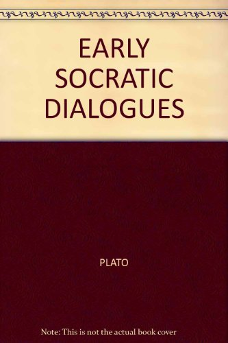 9789994715558: Early Socratic Dialogues