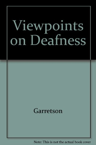 9789994799237: Viewpoints on Deafness
