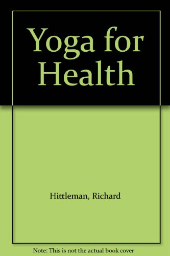9789994865130: Yoga for Health