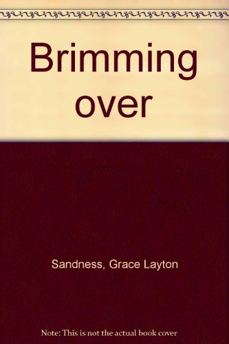 9789995274399: Brimming over