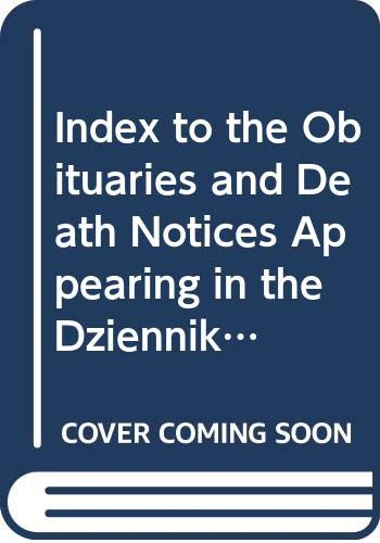 Index to the Obituaries and Death Notices: Hoffman, William F.,