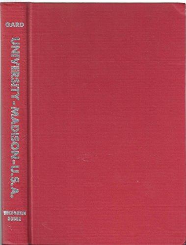 9789995304133: University Madison U.S.A.