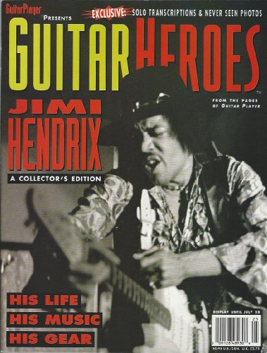 Guitar Heroes Jimi Hendrix/Special Edition of Guitar Player Magazine
