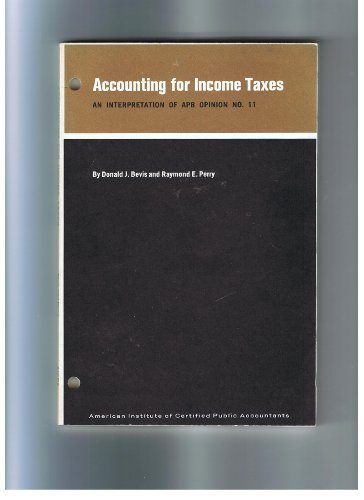 9789995389468: Accounting for Income Taxes