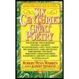 9789995651169: Six Centuries of Great Poetry