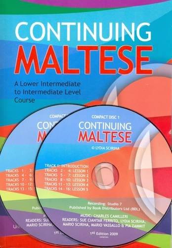 Continuing Maltese: A Lower Intermediate to Intermediate: Lydia Sciriha