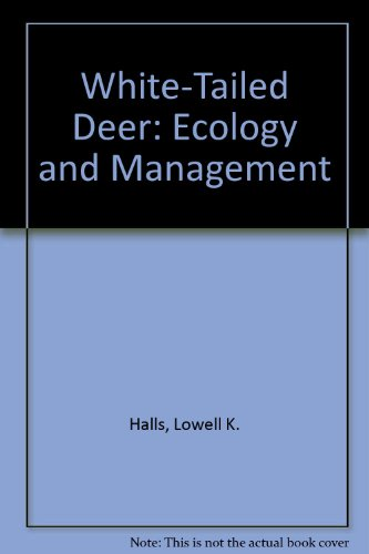 9789995766160: White-Tailed Deer: Ecology and Management
