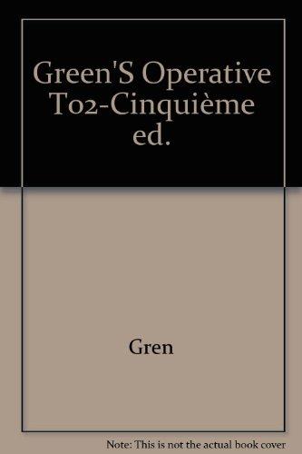 GREEN'S OPERATIVE T02 5ÈME ÉDITION