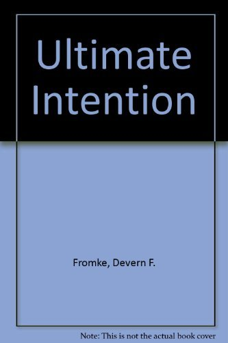 9789996079627: Ultimate Intention