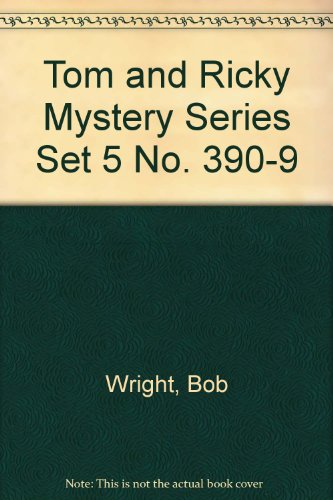 9789996104848: Tom and Ricky Mystery Series Set 5 No. 390-9