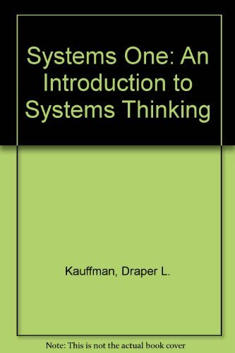 9789996280511: Systems One: An Introduction to Systems Thinking