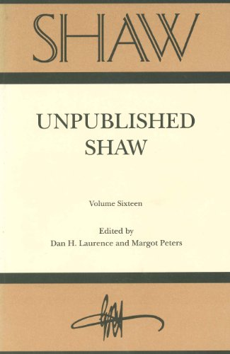 Shaw: The Annual of Bernard Shaw Studies (Vol 16) (9996489906) by Fred D. Crawford