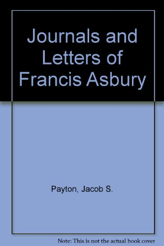 9789996524189: Journals and Letters of Francis Asbury