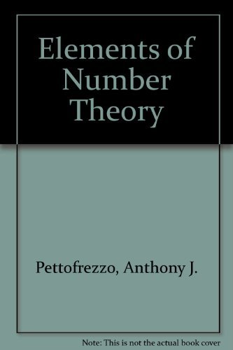 9789996753787: Elements of Number Theory