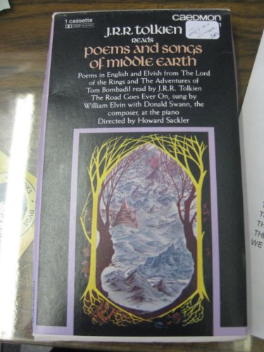 9789996973840: J.R.R.Tolkien Reads Poems and Songs of Middle Earth (Cassette)