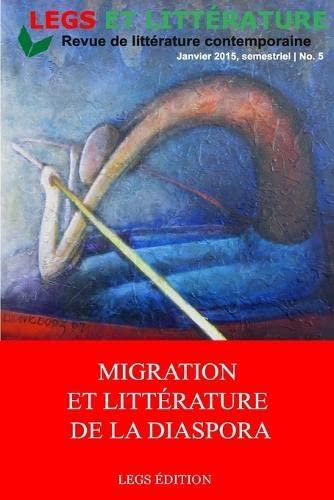 9789997086082: Migration et Littérature de la diaspora (French Edition)
