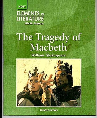 Elements of Literature Sixth Course (Grade 12): William Shakespeare