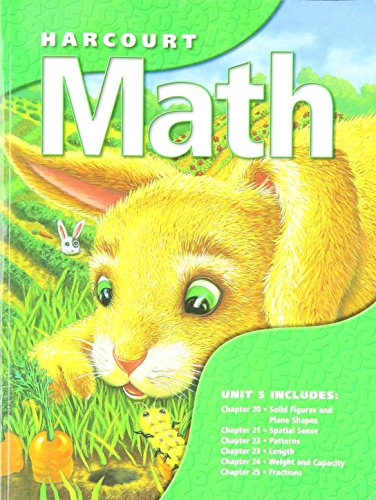 9789997349262: Harcourt Math, Unit 5, Grade 1