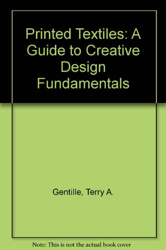 9789997355225: Printed Textiles: A Guide to Creative Design Fundamentals