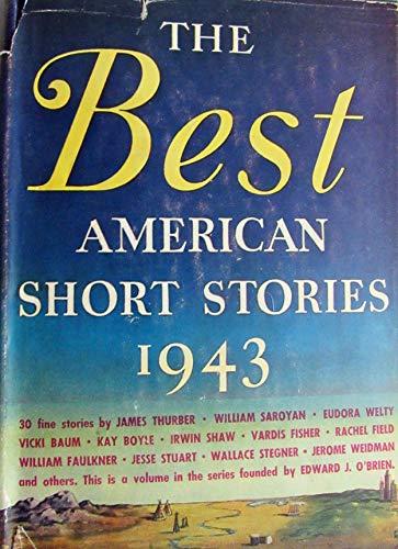 9789997371249: Best American Short Stories: 1943