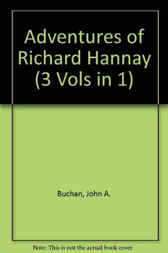 9789997405166: Adventures of Richard Hannay (3 Vols in 1)