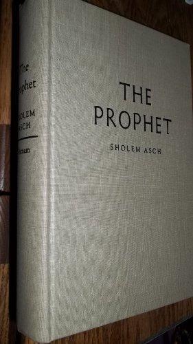 Prophet: Sholem Asch