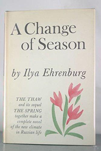 Change of Season: Ilya Ehrenburg