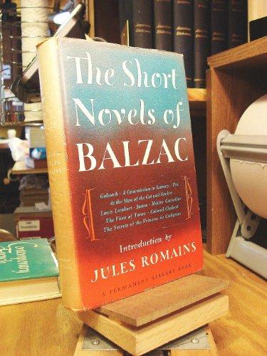 Short Novels of Balzac: Honore De Balzac