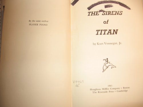 9789997408716: Sirens of Titan
