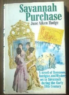 Savannah Purchase: Jane Aiken Hodge